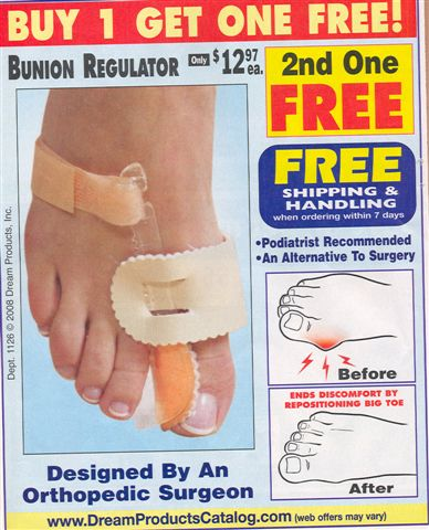Bunion fixer