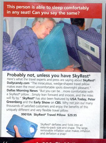 Air pillow for assholes
